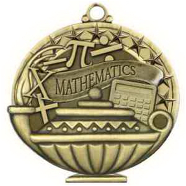"2"" Academic Performance Medal MATHEMATICS in Gold"