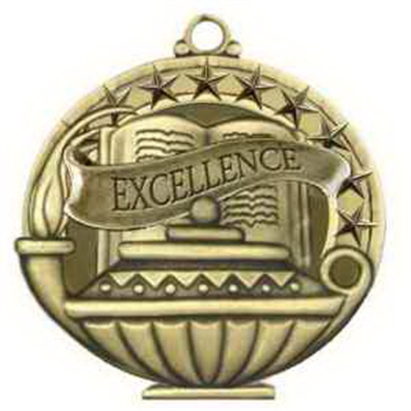"2"" Academic Performance Medal EXCELLENCE in Gold"