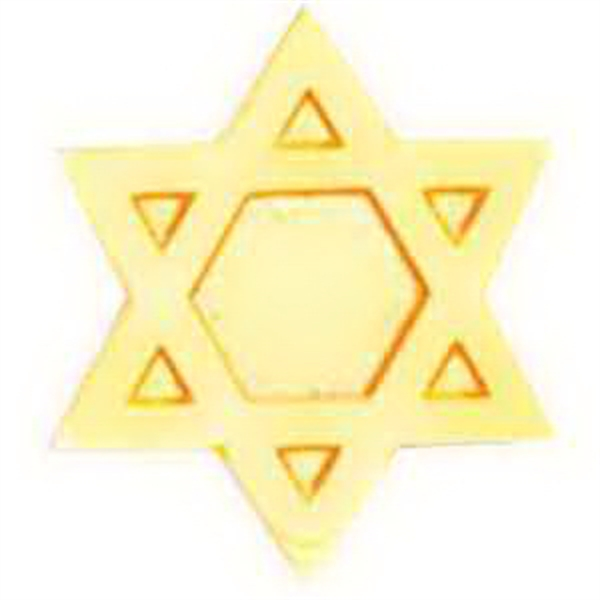 Service Lapel Pin JEWISH STAR