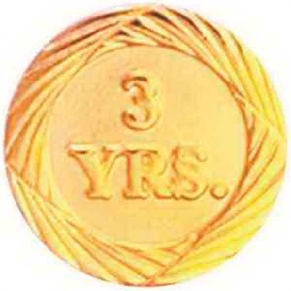 Service Lapel Pin 3 YEAR