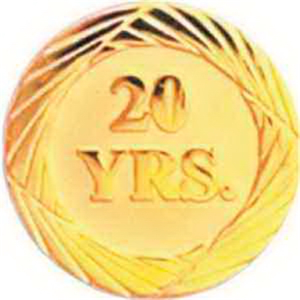 Service Lapel Pin 20 YEAR