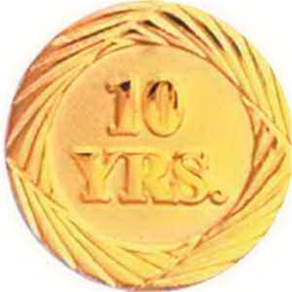 Service Lapel Pin 10 YEAR