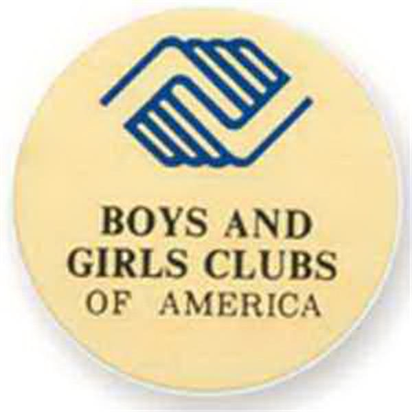 "2"" BOYS AND GIRLS CLUB MYLAR -"