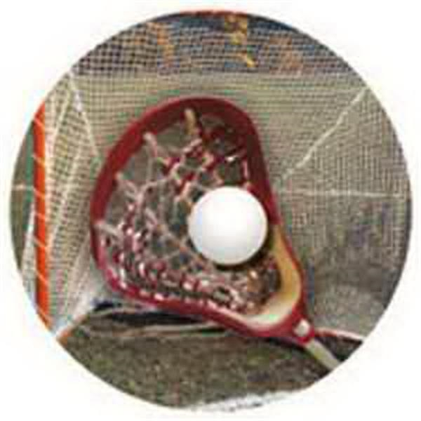 "2"" FULL COLOR Insert with Dome LACROSSE -"