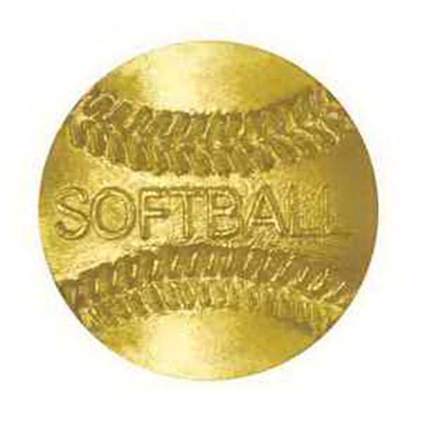 Chenille Pin SOFTBALL