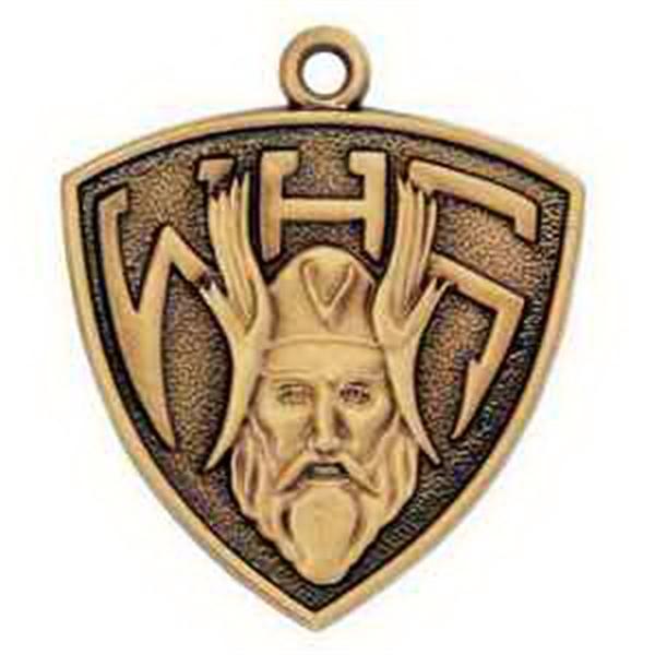 """1 1/4"""" Qualicast Medal"""