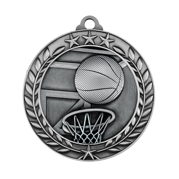 1 3/4'' BASKETBALL MEDAL (S)