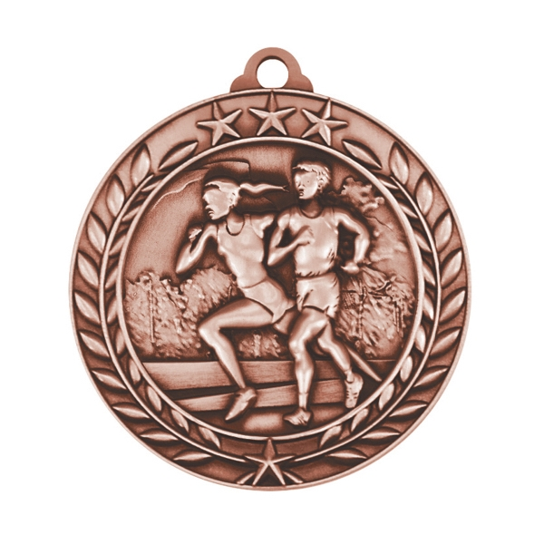 1 3/4'' CROSS COUNTRY MEDAL (B)