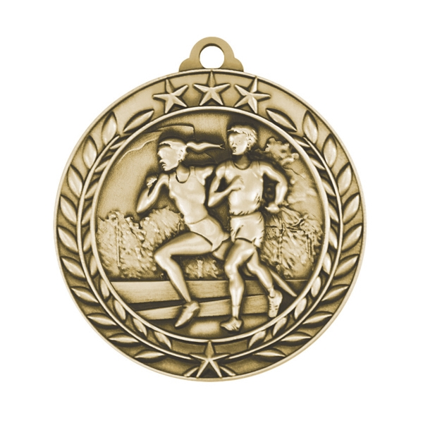 1 3/4'' CROSS COUNTRY MEDAL (G)