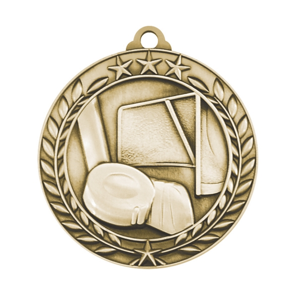 1 3/4'' HOCKEY MEDAL (G)