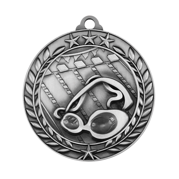 1 3/4'' SWIMMING MEDAL (S)