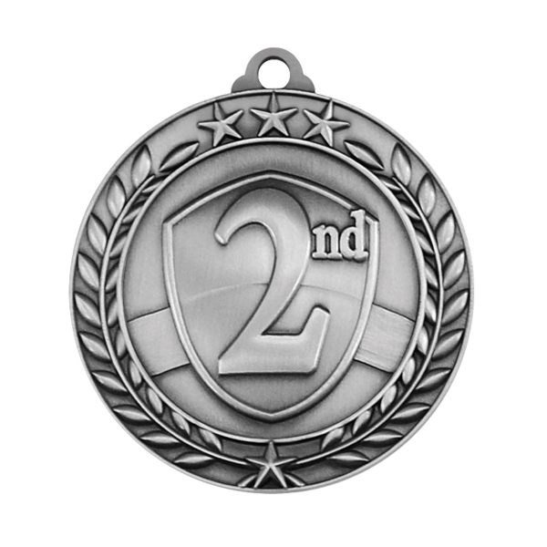 1 3/4'' 2ND PLACEMEDAL  (S)