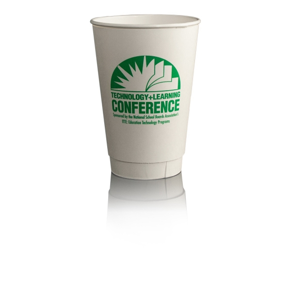 16 oz Insulated Paper Cup - White - Tradition