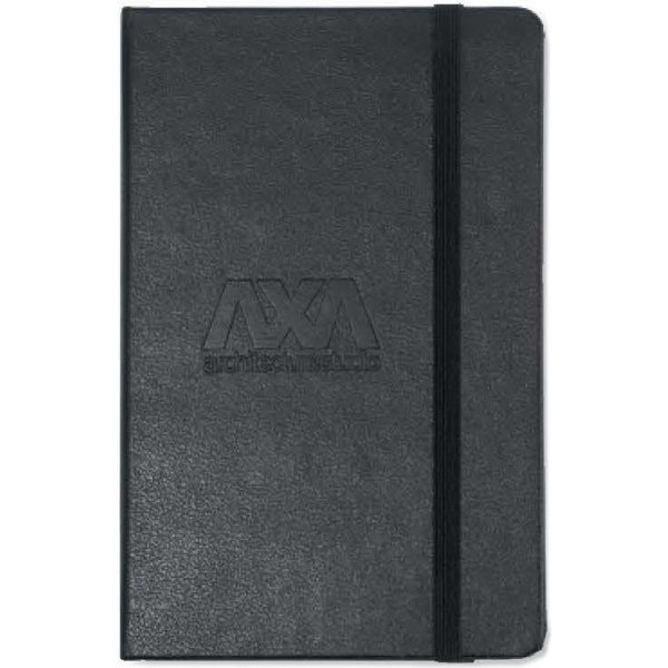 Moleskine (R) Hard Cover Squared Pocket Notebook