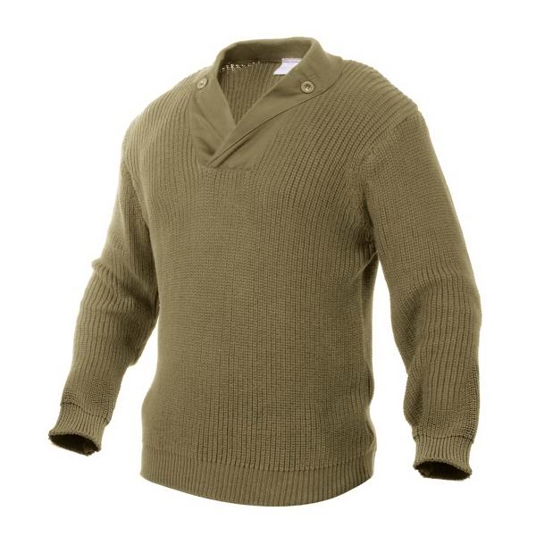 WWII Khaki Vintage Mechanics Sweater