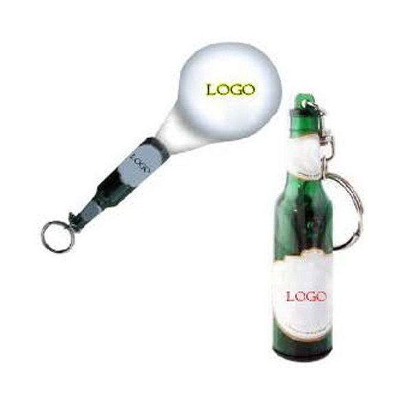 Projector Bottle Keychain
