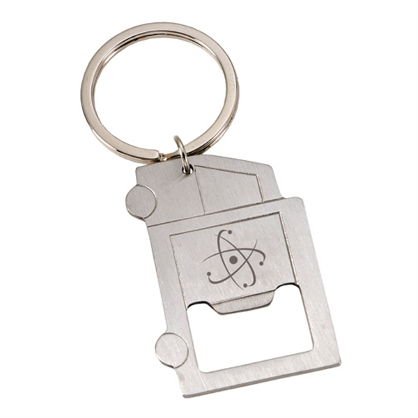 Key Holder with Bottle Opener
