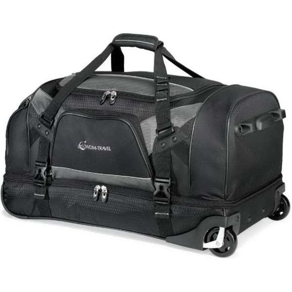 Vertex (TM) Tech Drop Bottom Wheeled Duffel