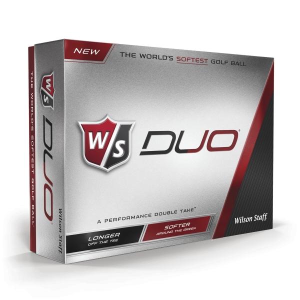 Wilson Staff Duo Golf Ball - Dozen Box