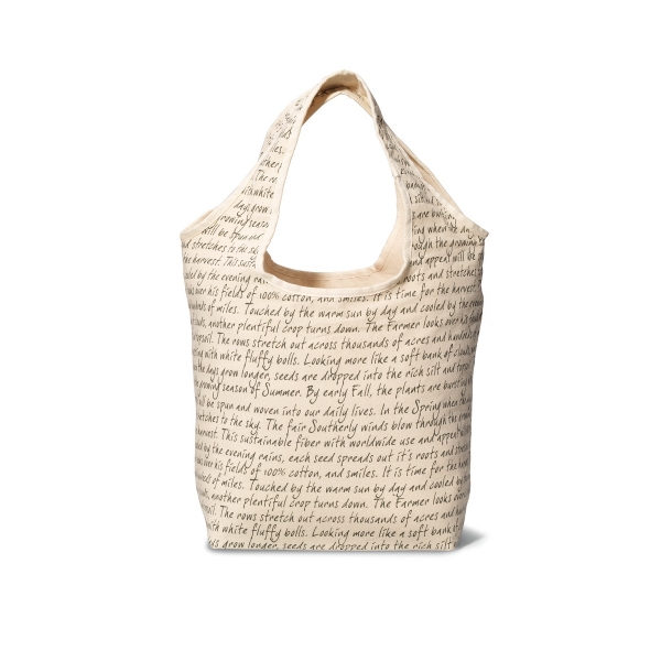 Inspirations Reversible Cotton Tote