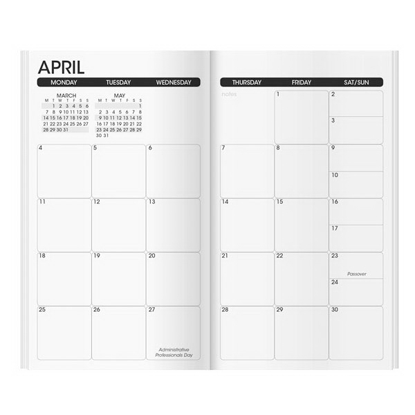 Work Monthly Planner