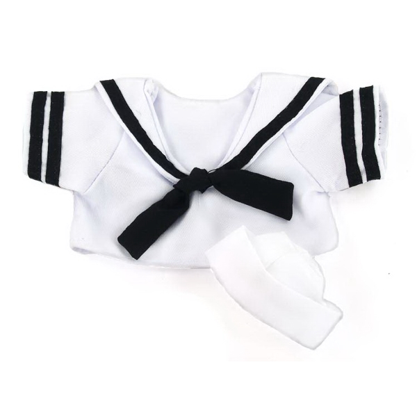 "Medium Sailor ""Navy"" Uniform for stuffed plush toy"