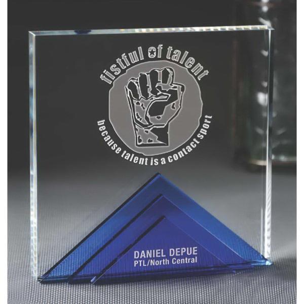 Large Andover Tri Level Award