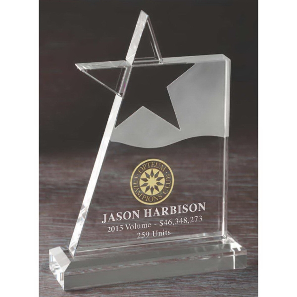 Optical Crystal Megastar Award