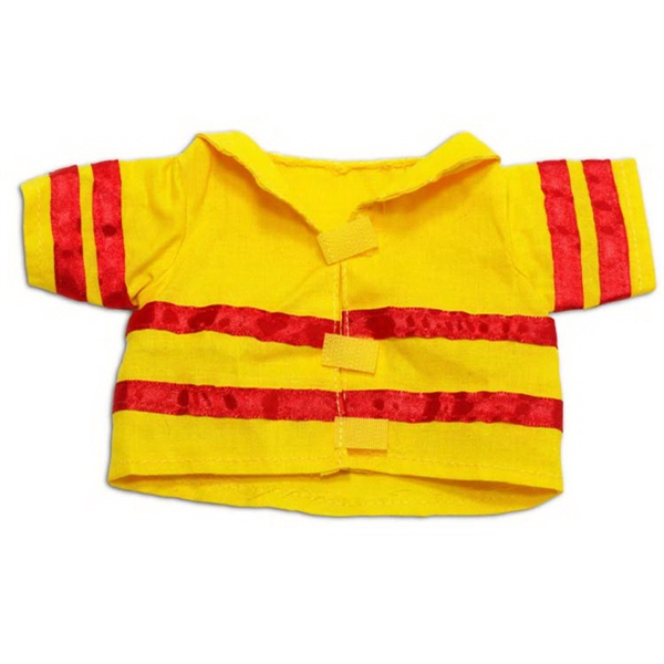 Medium Fireman Jacket for plush toy