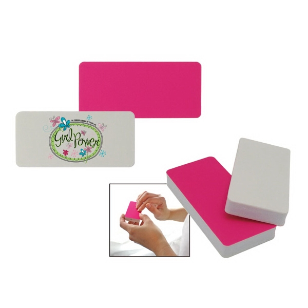 Nail  File Block w/full color process