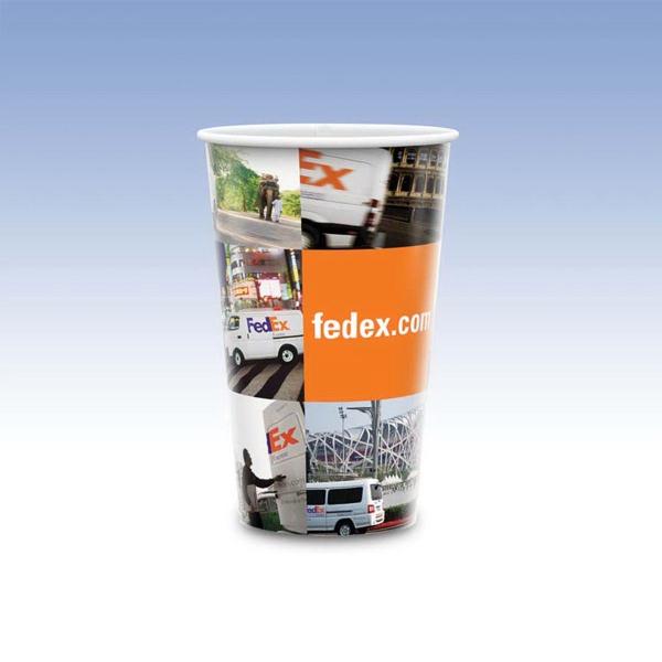 24oz-Reusable White Plastic Cups