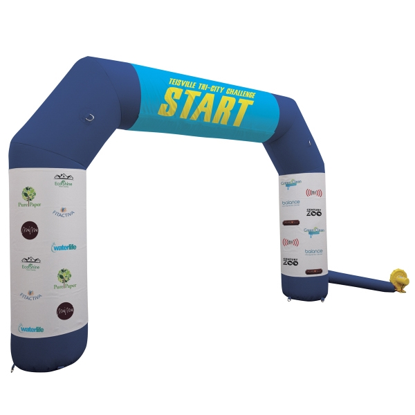 Arch Inflatable Display with Graphics