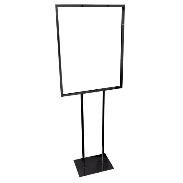 Flat Base Sign Display - Hardware only
