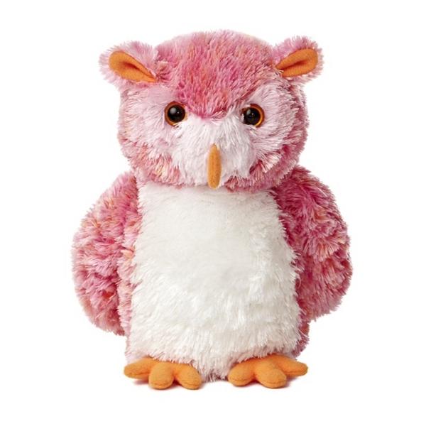 "8"" Pink Hoots Owl"