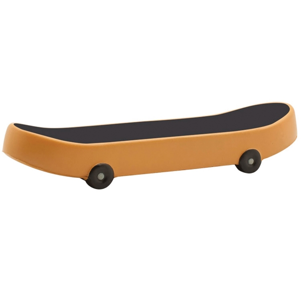 Skateboard  Squeezie (R) Stress Reliever