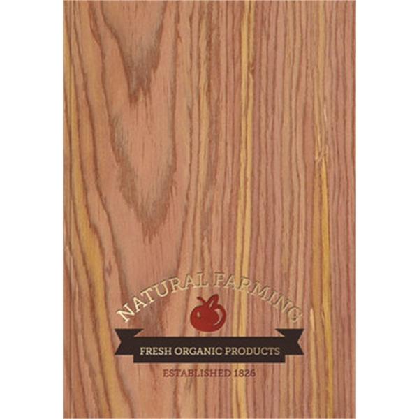 Wood Grain Flex - Medium Note Book