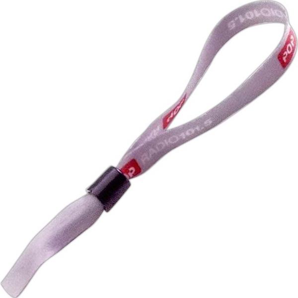 """1/2"""" Imported Dye-Sublimated Bracelet with Locking Slider - Imported dye-sublimated 1/2"""" bracelet with locking slider."""