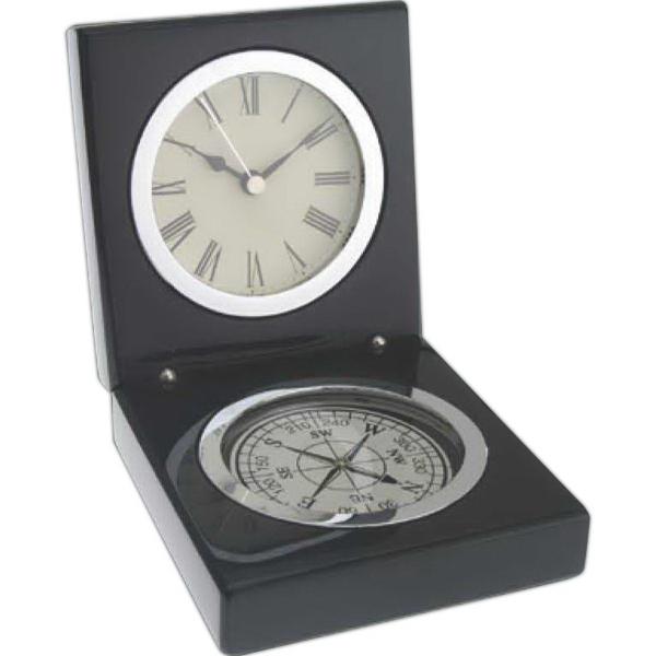 Magellan Compass And Clock