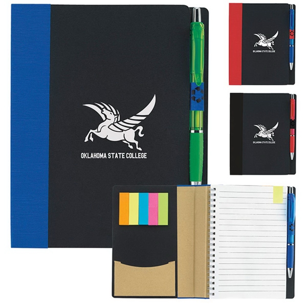 "5"" x 7"" ECO Notebook with Flags"