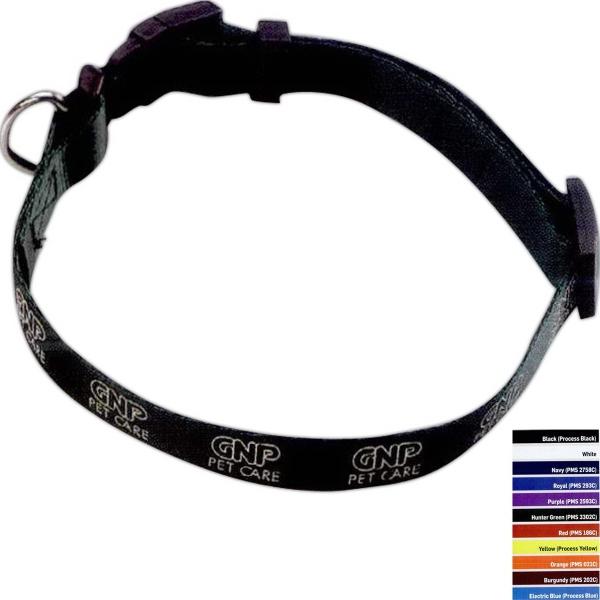 "3/4"" Smooth Nylon Pet Collar"