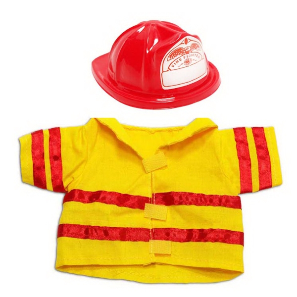 Small Cloth Fireman Uniform for plush toy