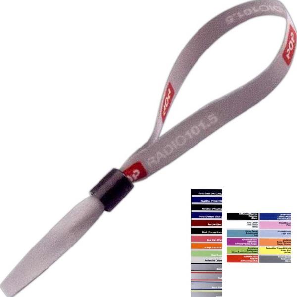"""1/2"""" Sublimated Bracelet with Locking Slider - 1/2"""" Dye-sublimated bracelet with locking slider."""