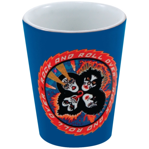 Full Color Collector Cup/Ceramic Shot - 1.5 oz
