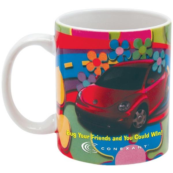 Full Color Stoneware Executive Mug  - 11 oz.