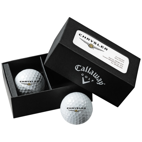 Callaway 2-Ball Business Card Box with HexWarbird