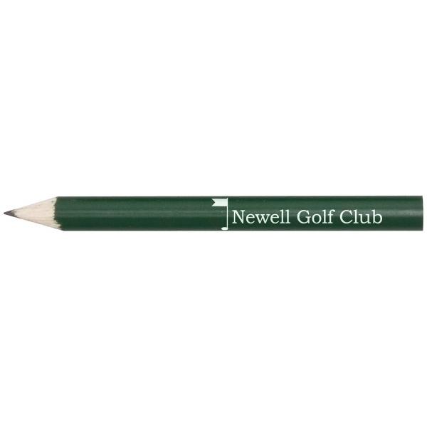 Round Wooden Golf Pencil w/o Eraser