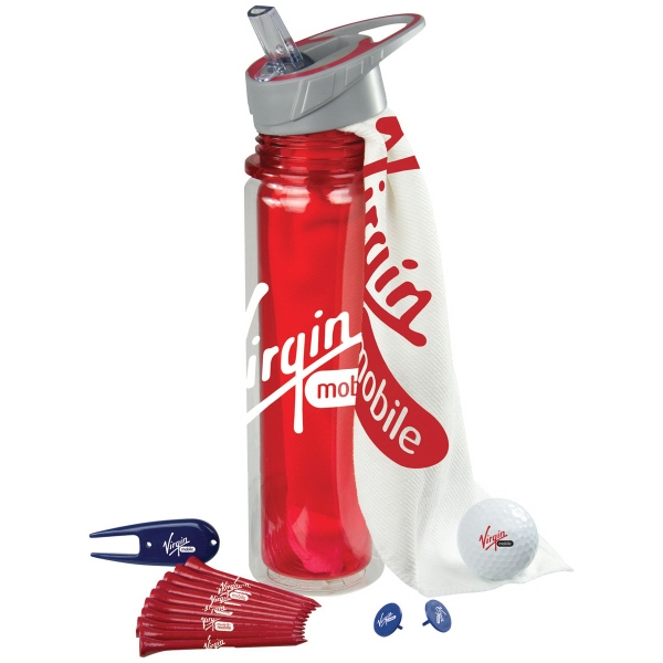 Hydrate Golf Kit w/ Wilson Ultra Distance Golf Ball