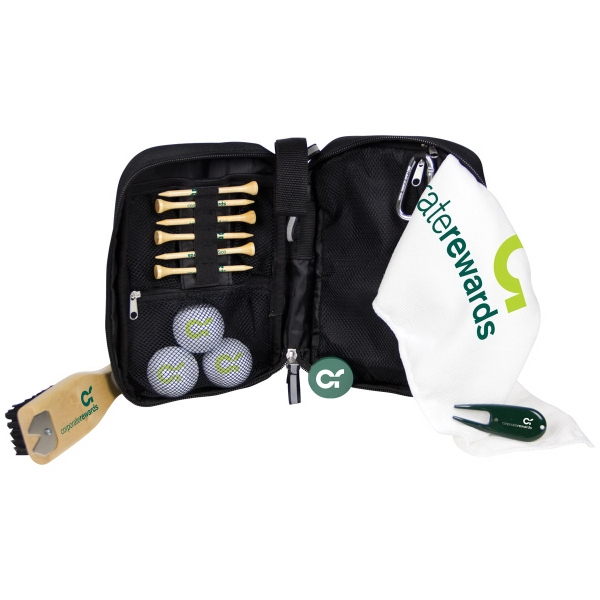 Voyager Caddy Bag Kit w/ Nike NDX Heat Golf Ball