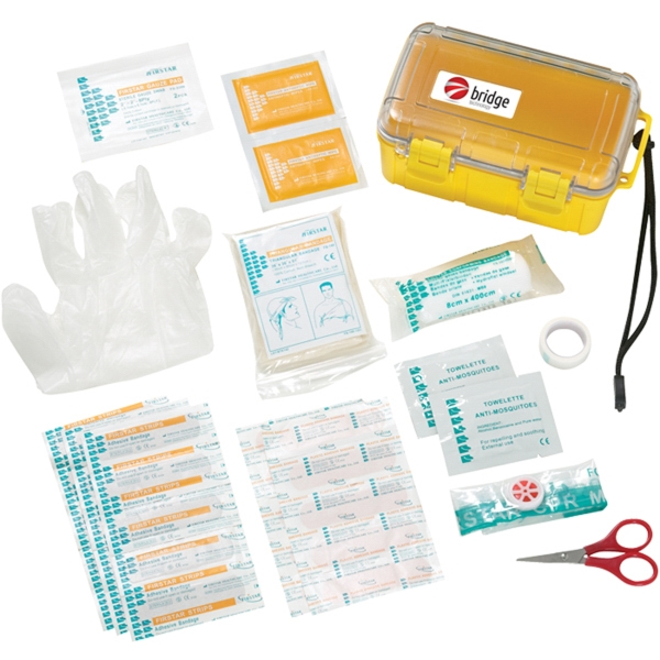 37 Piece Waterproof First Aid Box