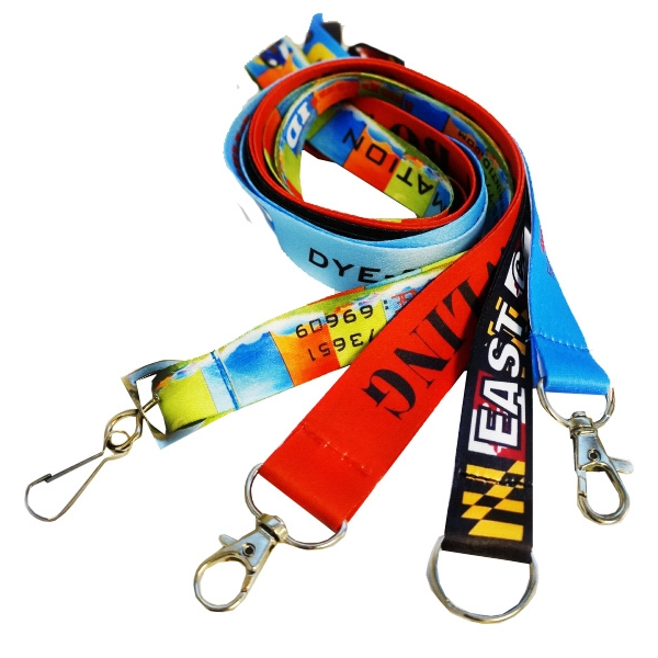 3 Days USA made Full Color Sublimated Lanyard